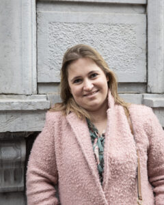 Bestuurslid Stéphanie Grosjean