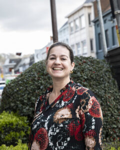 Penningmeester Sylvie Buyle
